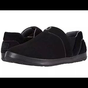 Ugg Hanz slipper suede upper black men's size 11